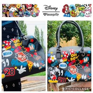 Disney Mickey Mouse Lounge Fly Bowling Bag